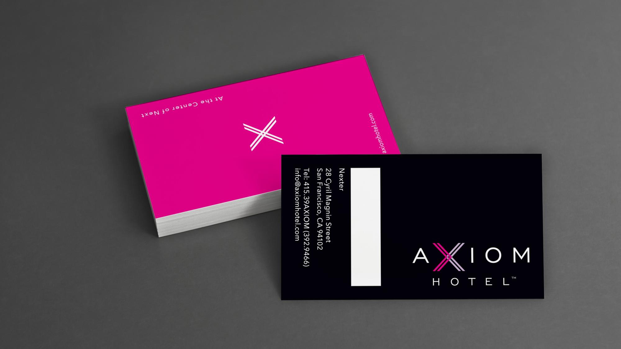 Axiom Business Cards