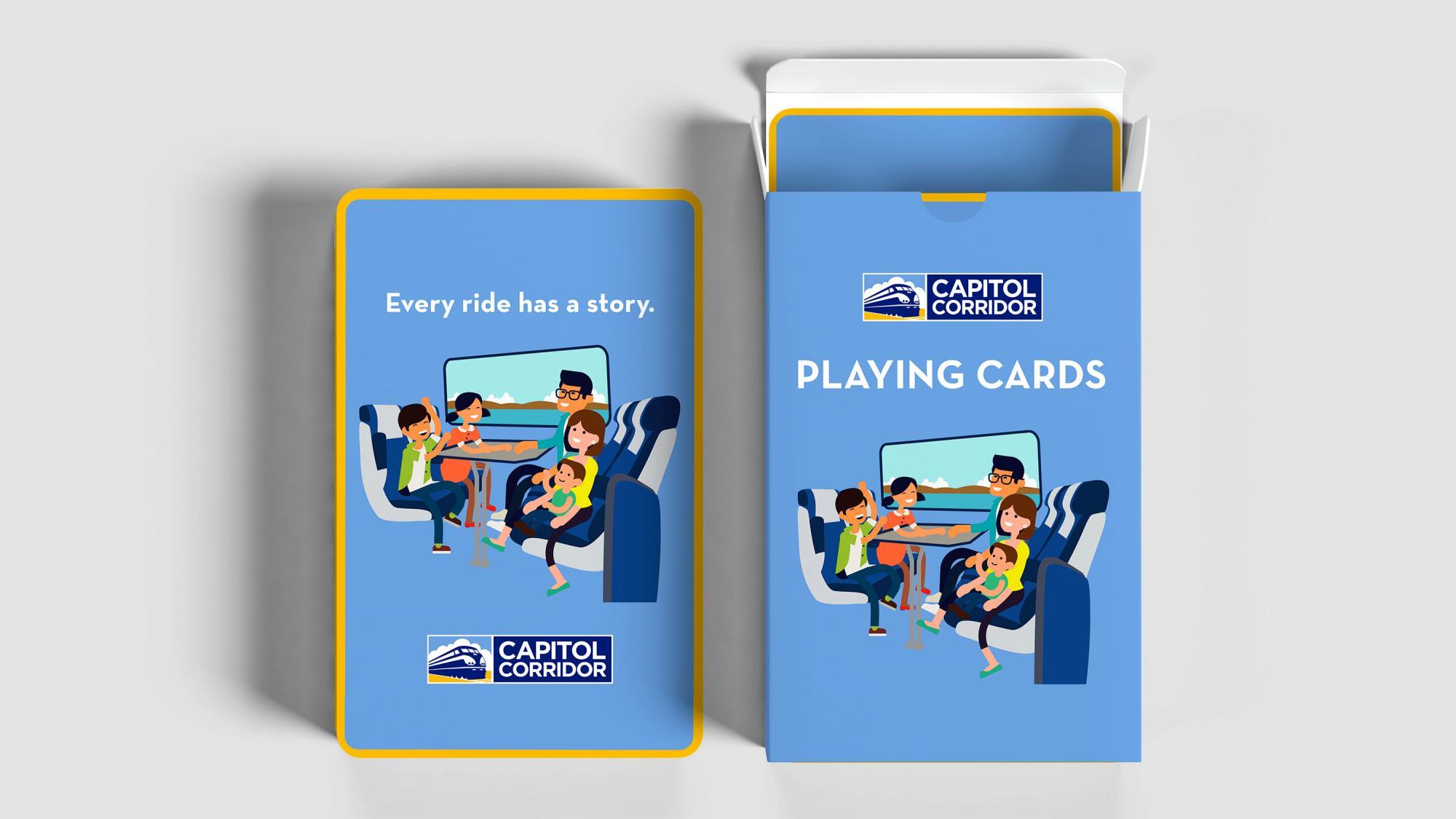 Capitol Corridor Cards
