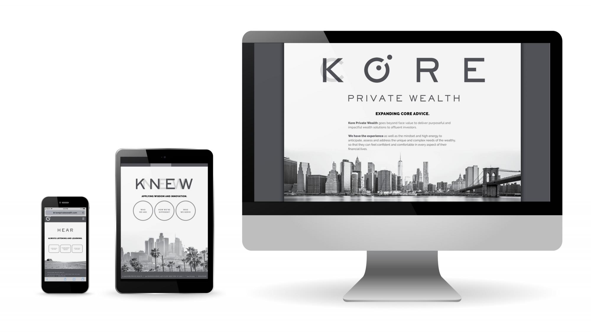 Kore MINT Website